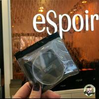 eSpoir Clear Powder Puff Transparenter Silikon-Schwamm-Mixer Glatter Puff Makellose Mischgesichts-Make-up-Werkzeuge für Foundation mit Einzelhandelstasche