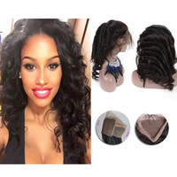 Peruvian 360 Lace Frontal Loose Wave With Baby Hair Human Ha...