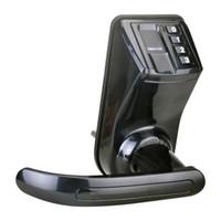 Électronique biométrique d'empreintes digitales de verrouillage de porte avec 3 touches d'urgence et installer gratuitement Facile à utiliser le kit