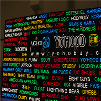 Signes de boutique d'affaires à LED de haute luminosité en plein air, panneau à néon ouvert sur mesure, lettres de barre de café lumineuses