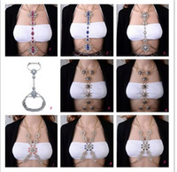 Fashion Rhinestone Sexy body chain Charm Night Club Party Lo...