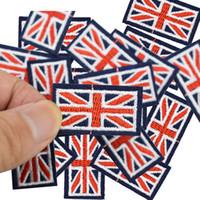 Diy patches de drapeau pour le patch brodé fer vêtements fer sur les patchs couture Appliqué accessoires Badge autocollants pour sacs de vêtements
