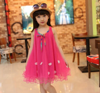 baby girl designer lace dress formal princess sundress tutu ...