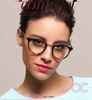 3c0f7ed38d0b3 Atacado- Chashma Marca Homens Retron Óculos Redonda Vintage Vidros Ópticos  Quadro Mulheres Moda Óculos Frames