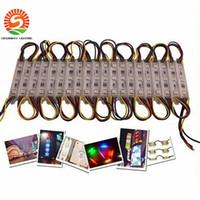 80LM 0.72W 3 LED SMD 5050 moduli LED RGB Led Pixel moduli impermeabili 12V Retroilluminazione Lettera canale Per il segno di trasporto