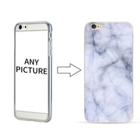 Оптовая Мраморный Pattern Телефон Чехол для iPhone 5 5S 6 6 Plus УФ-Печать Персонализированные Настроить Телефон Оболочки