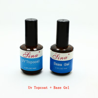 Wholesale- 2pcs Lot Base Coat Top Coat + Primer Faster Drying ...