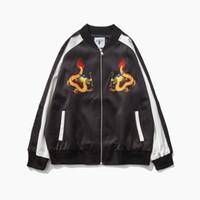 All'ingrosso- The Dragon ricamo giapponese Slim Type Ancient Yokosuka giacca sfoderata abbinata