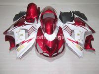 Gratis 7 regalos Kit de carenado para Kawasaki Ninja ZX14R 06 07 08 09 10 11 PAQUETES DE MOLDES DE INYECCIÓN BLANCA ROJOS ZZR1400 2006-2011 OP18