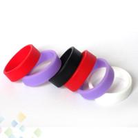 Il silicone più poco costoso non antisdrucciolevole antiscivolo e accessori della sigaretta 24 * 21 * 7 millimetro anelli del gel di silice collana del silicone di alta qualità DHL liberamente