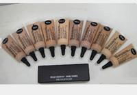 Frete Grátis Nova Maquiagem Rosto Selecione Cover-up Cache-cernes Concealer! 10 ml (100 Peças / lote)