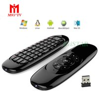C120 Fly Air Mouse 2.4Ghz Maniglia per giochi con 3-Gyro 3-Gravity Sensore a distanza Mini tastiera per PC HTPC Android Smart Tv Box