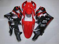 Venta caliente kit de carenado de plástico para Honda CBR900RR 02 03 rojo carenados negro set CBR 954RR 2002 2003 OT14