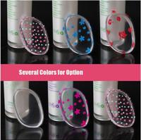 Desenli / renk Şeffaf silikon yüz vakıf aracı jöle tozu puf up temizle toz puf artefakt BB krem fondöten makyaj araçları