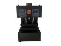 エアコンプレッサーオートロジンプレス機100%オリジナル工場直接販売LCD付き純電動オートデュアルヒートプレート