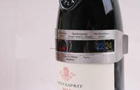 Paslanmaz Çelik Şarap Bilezik Termometre 4--24 derece santigrat Kırmızı Şarap Sıcaklık Sensörü Şarap Termometre 250 adet