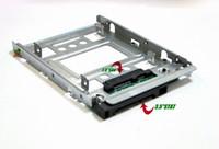 """HP 654540-001 2.5"""" SSD de 3,5"""" Bandeja adaptador convertidor de SATA HDD SAS Soporte Bay"""