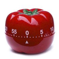 Minuterie mécanique Creative tomate / tomate / pomme / coléoptère / Hambourg / oeuf minuterie de cuisine