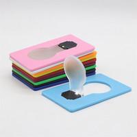 새로운 디자인 미니 지갑 크기 휴대용 포켓 LED 카드 조명 램프 야간 조명 LED 참신 배터리 전원