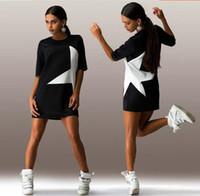 2017 горячее платье стиля 5 звезд напечатано платье втулки Женщины которые одевают