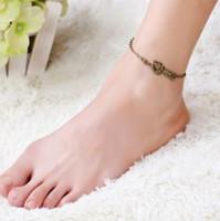 Bracelet à la cheville pour femmes et adolescentes Bijoux de la chaîne de pied de mariée
