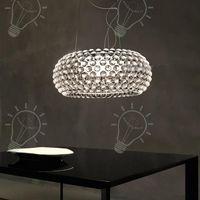 Pendant Light Foscarini Caboche lampadario chiaro della lampada / Ambra acrilico sfera Pendent Lampada da soffitto trasparente Hanging Light Restaurant