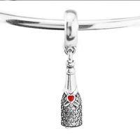 Pandulaso Celebration Time Fascino Charm Adatto per gioielli Pandora Bracciali Donna Perline fai da te per gioielli che fanno autentico argento sterling 925
