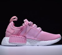 Very popular new Bb pink NMD R1 W BOOST Running Sneakers Fas...