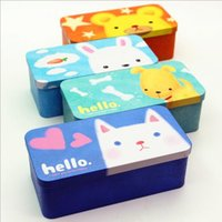 Wholesale- Cute Lovely Cute Animals Rabbit Bear Cat Dog Iron Metal School Pencil Case Tin Pencil Box Double-sided Students Storage Box & Wholesale Tin Pencil Case - Buy Cheap Tin Pencil Case from Chinese ... Aboutintivar.Com