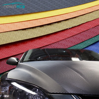 Car Styling Car Sticker 200X50cm 3D 4D Carbon Fiber Vinyl Fi...