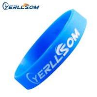 900PCS / lot высокое качество пользовательских debossed и чернила филельд резиновые силиконовые браслеты YD062708