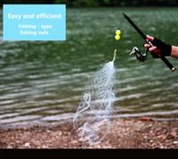 도매 물고기 후크가없는 스마트 낚시 유형 안전을 만듭니다. 메쉬 그물 pesca 낚시 그물 액세서리