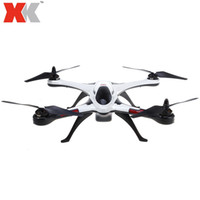 RC Drohne Air Dancer 4CH 2,4 GHz 6-Achsen-Gyro 3D / 6G Modus RC Quadcopter Flugzeug RTF Brushless Motor LED-Licht XK X350 Drohnen RC + B
