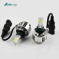 H7 LED Headlight All In One Bulb With 3 COB Chips Super Brig...