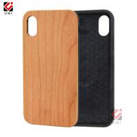Custodie per telefono di lusso per iPhone all'ingrosso sublimazioni in legno custodia per paraurti personalizzato