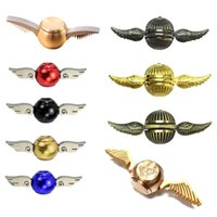 Generation 2 1 Hand Spinner Cupid Wings Golden Snitch Fans C...