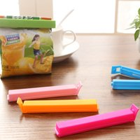 10 PCS lot 11 x 1. 3cm Large Food Snack Bag Storage Sealing C...
