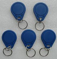 Les prix d'usine les moins chers de haute qualité EM4100 125khz 100pcs / lot ISO11785 ABS RFID ID porte-clés des anneaux