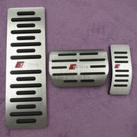 Автомобильные аксессуары газовый тормоз подножки топливные педали колодки для AUDI S4 RS4 A5 S5 RS5 8T A6 4G S6 (C7) Q5 S5 RS5 A7 S7 SQ5 8R LHD 2009 +