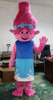New Mascot Costume Trolls Branch Mascot Parade Quality Clown...