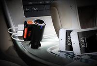 2017 Araba MP3 Ses Çalar Bluetooth FM Verici Kablosuz FM Modülatör Araba Kiti Araba USB Oyuncu Çift USB Şarj BC09