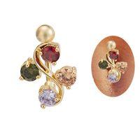 جديد وصول 1 قطعة زهرة السرة الدائري مثير أزياء النساء الفتيات الجسم مجوهرات ثقب ombligo البطن زر حلقات