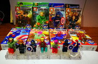 8pc lot New style Super hero The Avengers alliance building ...