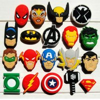 95pcs Avengers PVC Shoe Charms Ornaments Buckles Fit for Sho...