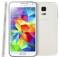 الأصلي سامسونج غالاكسي S5 i9600 G900F G900V G900A G900T G900V مع البطارية الأصلية رباعية النواة 2GB / 16GB 4G LTE تجديد الهاتف مغلق