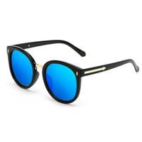 c09419ec864c7 Óculos De Sol Polarizados 2018 Marca Quente Setas rodada Óculos de Sol de  Luxo Oversize Mulheres