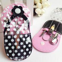 Pedicure flip-flop kit per pedicure pantofola per unghie manicure set da sposa con doccia da sposa favorisce matrimonio favore partito regalo souvenirs ZA3000