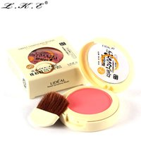 Wholesale-New 8 Colors Blush Soymilk Matte Pearl Rouge Blush High Quality Make Up Face Blusher