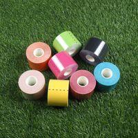 Muscle Tape Athlete Use Специальная спортивная паста Эластичный патч с внутренним эффектом Многоцветная хлопчатобумажная повязка Защита от травм 7 8sk F