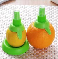 Yaratıcı Limon portakal Püskürtücü Meyve Suyu Narenciye Kireç Sıkacağı Spritzer Mutfak Alet Sprey Taze Meyve Suyu